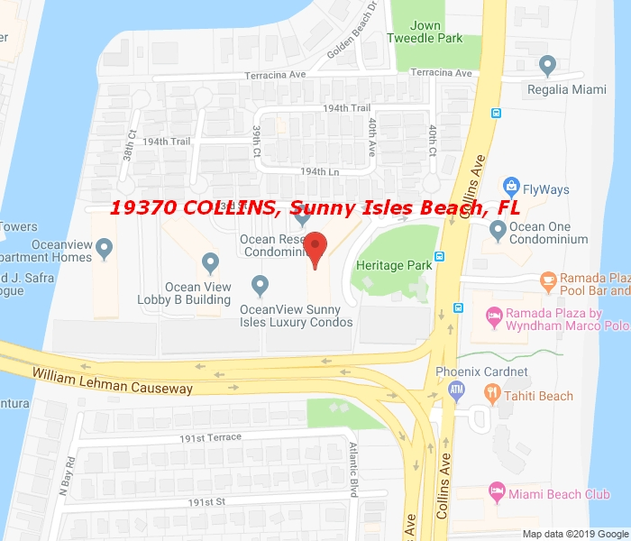 19370 COLLINS AVE 224, Sunny Isles Beach, Florida, 33160